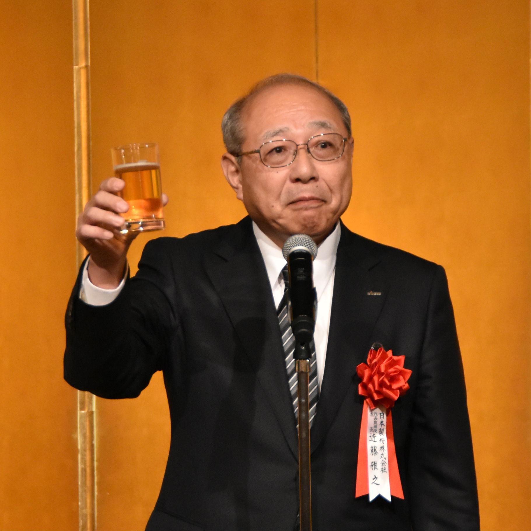 日本製粉㈱近藤 雅之 社長